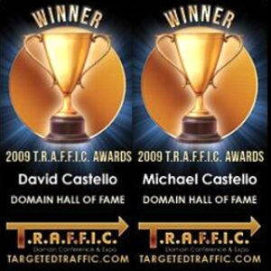 TRAFFIC Domain Name Hall of Fame - Castello Brothers