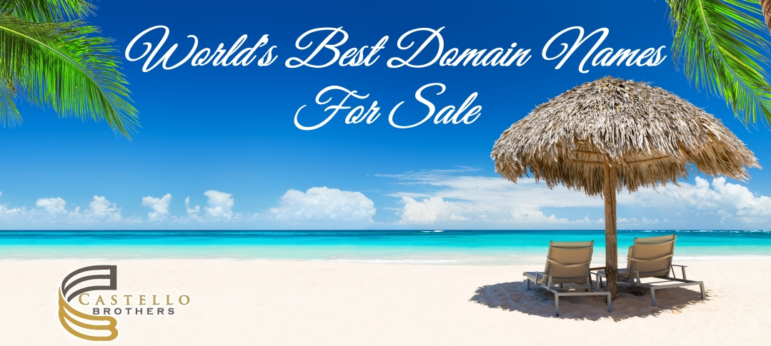 Domain Names For Sale – Premium Domain Names – Castello Brothers